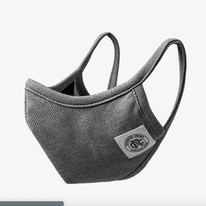 REIGNING CHAMP COOLMAX PIQUE FACE MASK IN GRAY !